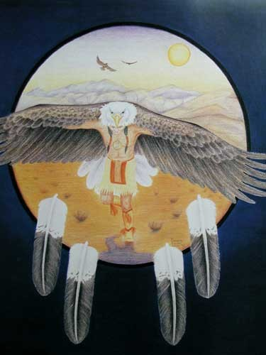 Eagle Dance by Danielle Auclair Shier