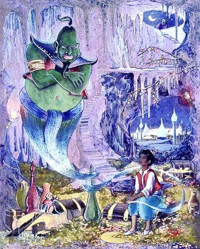 Aladdin Folien-Bild