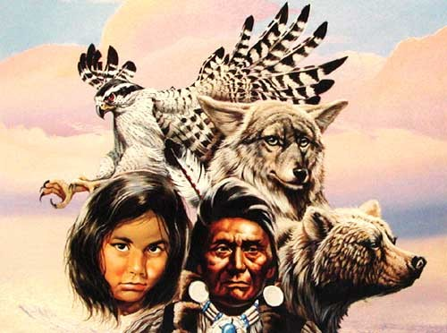 Indianer, Montage by Gary Ampel