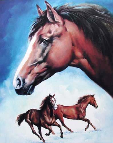 Pferdemontage