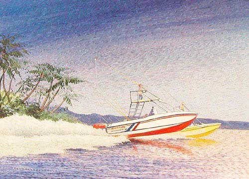 Sportboot by Rob Johnson