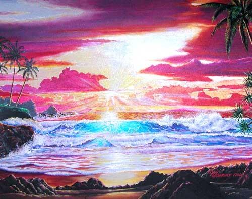 Sun rise, Dick Kerney