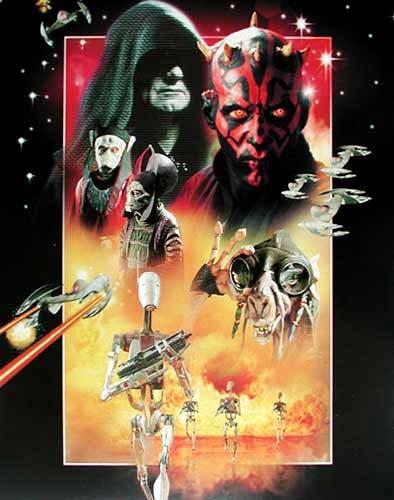 Star Wars Poster 40x50