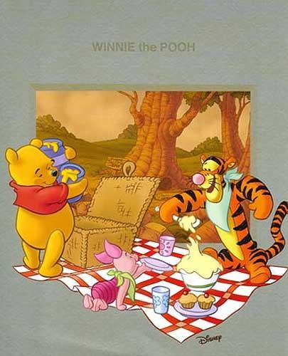 Winnie the Pooh - Picknick