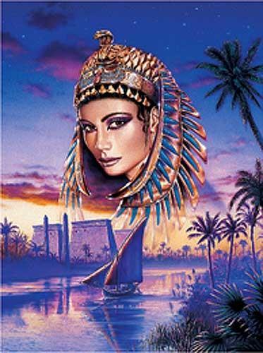 Nofretete, Die Königin vom Nil- Alu Bild