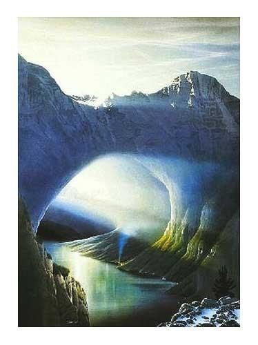 Nord-West-Passage von Sahm Hans-Werner Kunstdruck 60x80
