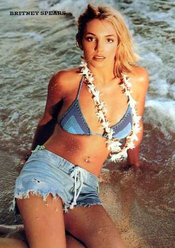 "Spears Britney ""On the Beach"""