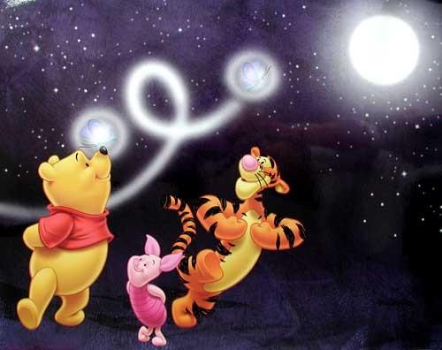 Winnie Puuh, Ferkel und Tiger Poster