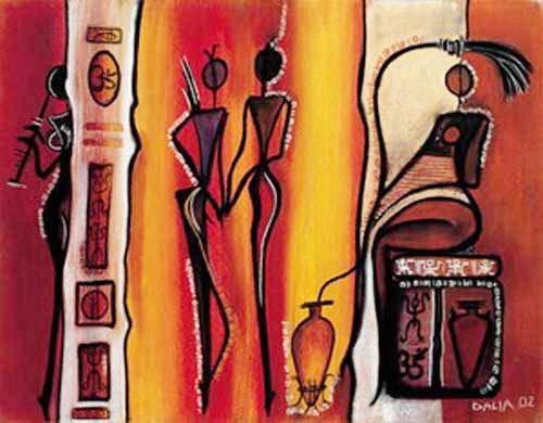 Afrikanische Kunst, Dalia
