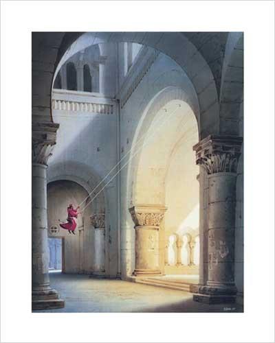 Kunstdruck 40x50 cm: Halleluja von Sahm Hans-Werner