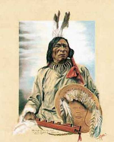 Indianer, Fool Bull, Sioux Brule