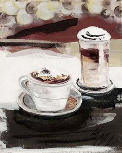Cappuccino und Milchkaffee
