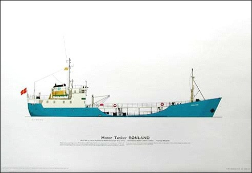 Tankmotorschiff, Rønland Druck