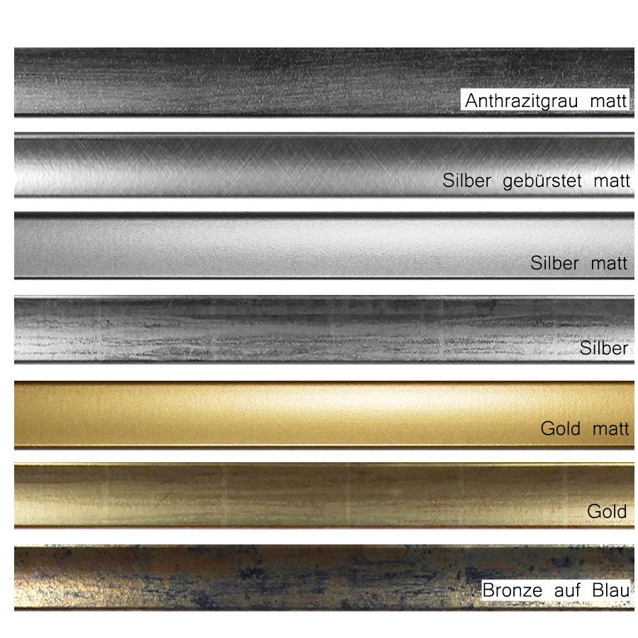 ... Weiß MDF Rahmen DIN A4 In Silber, Gold, ...