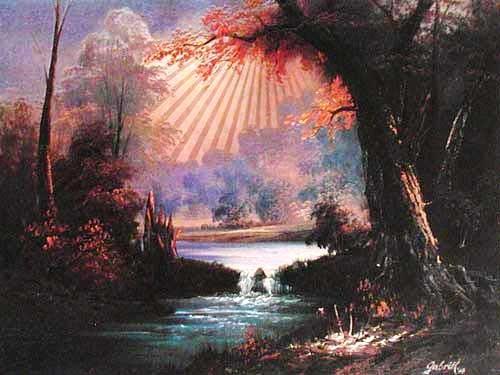 Landschaft by Gabriel