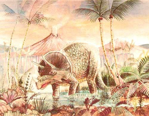 Triceratops Alu Bild