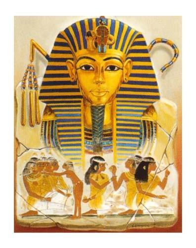 Collage- König Tutanchamun Poster