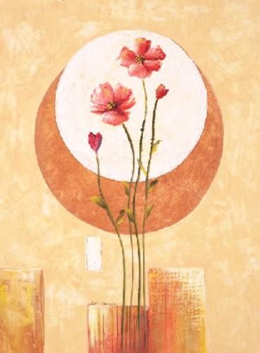 Blumen, Flores Sobre Circulo II, S. Sauci
