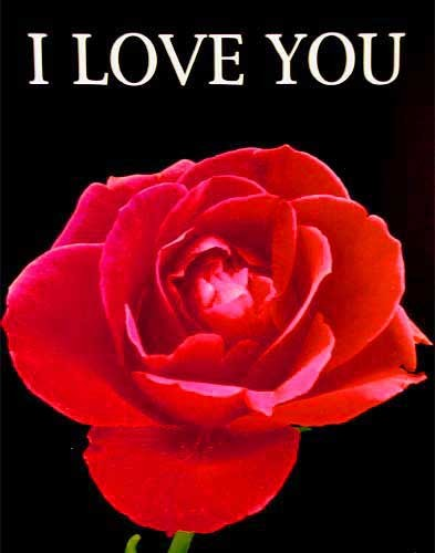 """Poster """"I LOVE YOU"""""""
