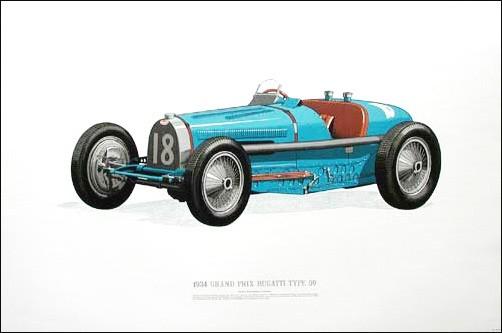 1934 Grand Prix Bugatti Type 59 (Limitierte Auflage)