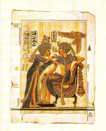Tutanchamun und Anchesenamun Poster