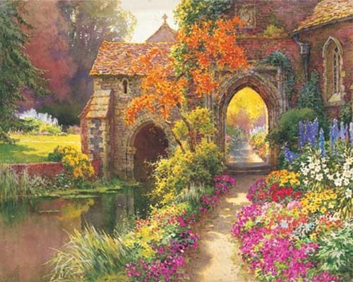 Chapel Garden by E. W. Hasehust