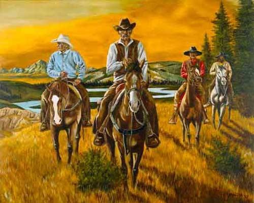 Cowboys by Yanozha
