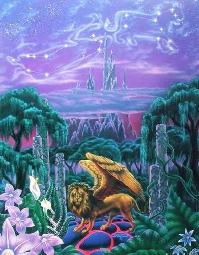 Tal der Löwen by Sue Dawe