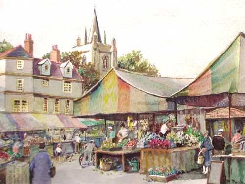 Marktplatz by B. Pugh
