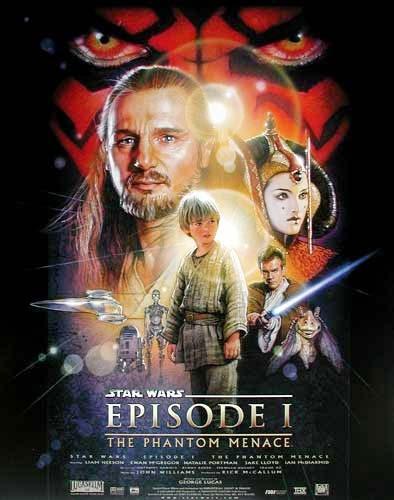 Star Wars, Episode I Poster 40x50