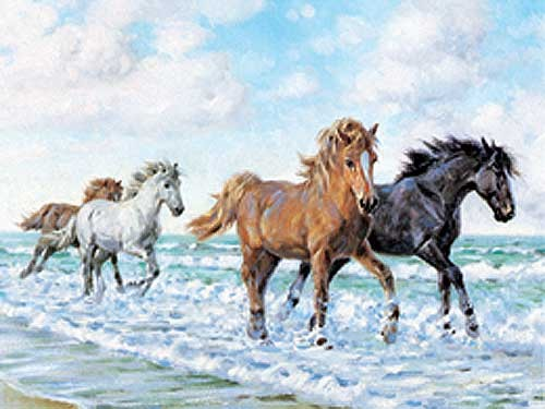 Horses by the Sea by Rosemary Welch