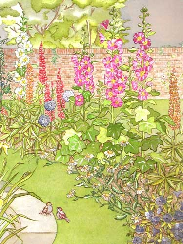 East Parterre by Martine Blaney