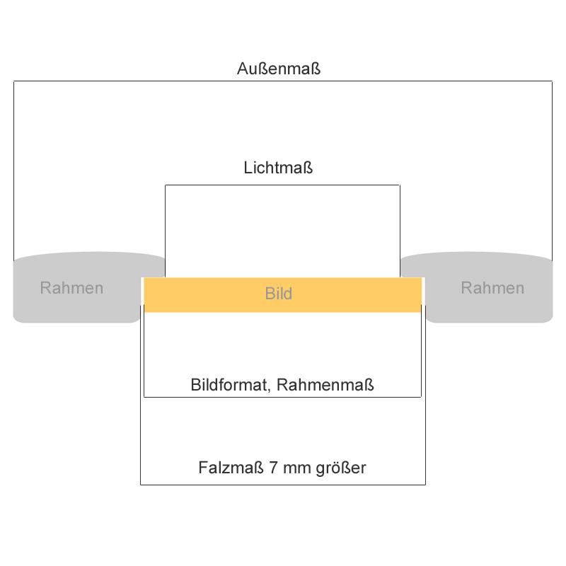 Antikgoldener Grützner-Rahmen Renaissance