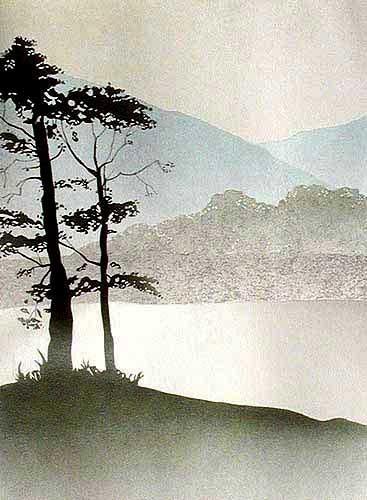 Wasserlandschaft Bild