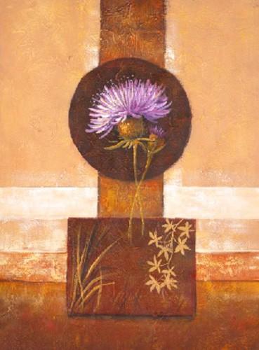 Blumen, Flor con Hojas Secas III, S. Sauci