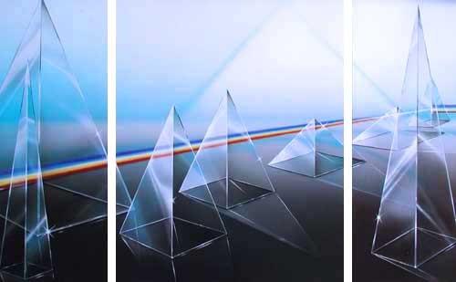 Triptychon - Glaspyramiden
