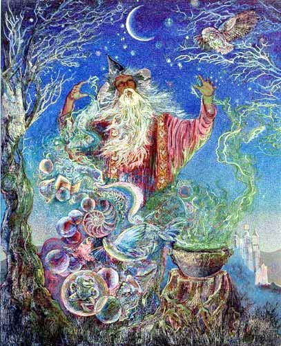 Merlin`s Magic by Josephine Wall