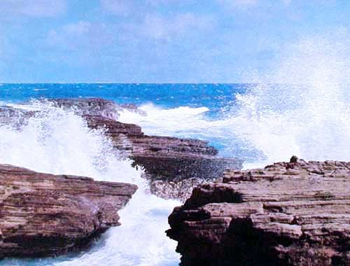 Rocks and Waves by Hawaii
