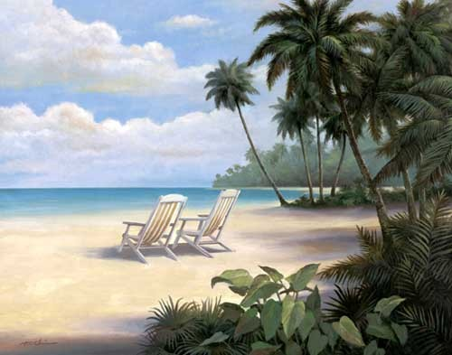 Tropical Bliss Kunstdruck 40x50