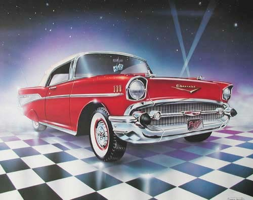 Chevrolet 1957 by Brian Tylor