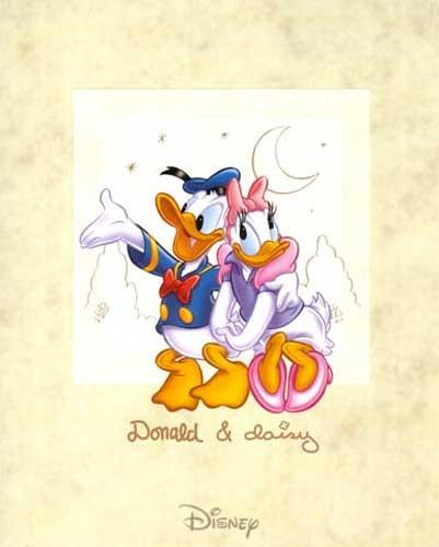 Donald and Daisy unterm Halbmond