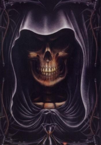 Death/ Totenkopf, großes Poster