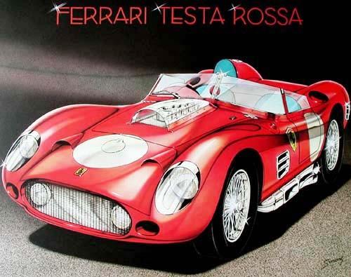 Ferrari Testarossa by Simons