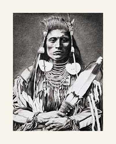 Indian Warrior by Paris