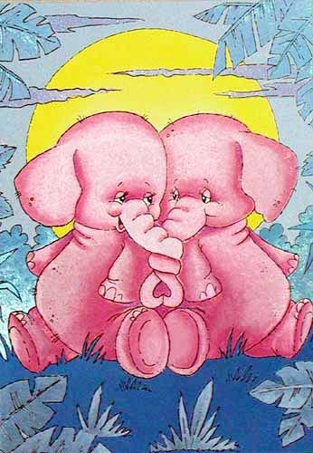 Zwei Elefanten *