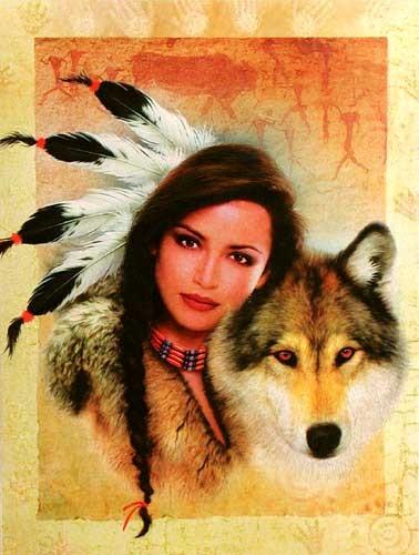 Mystic Wolf by Howard Robinson