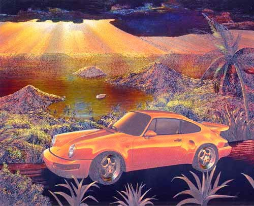 Porsche Bay by Adrian Chesterman