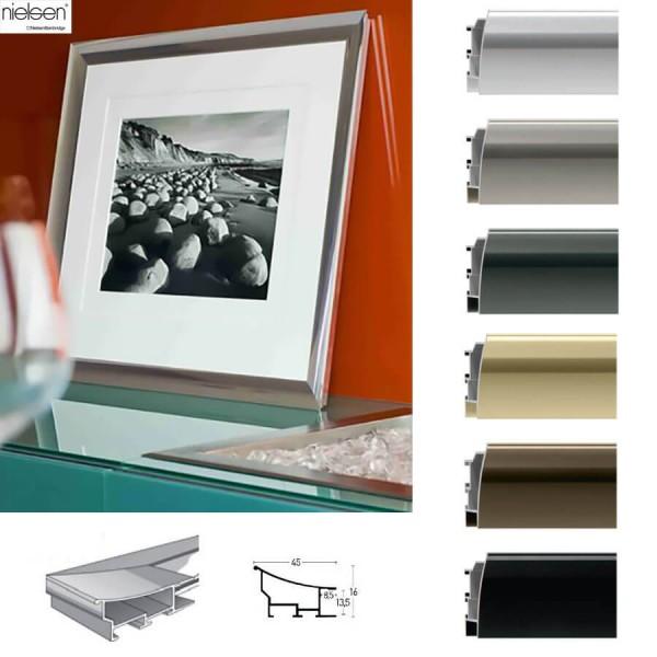 Nielsen Alubilderrahmen 100 x 120 cm klassisches Profil 45 mm