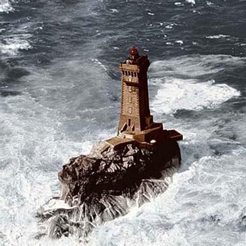 Leuchtturm La Vieille Leinwand-Bild