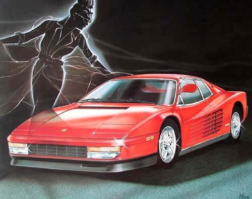 Ferrari by H.Villieres